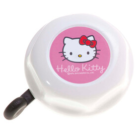 Bike Fashion Hello Kitty - Timbre Niños - Ø 55 mm rosa/blanco